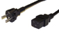 2 meter SCHUKO CEE 7/7 (Euro) to C19 Power Cable - H05VV-F 1.5 (